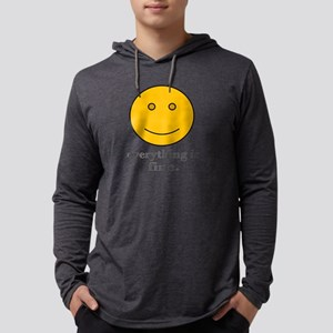 everything is fine Long Sleeve T-Shirt