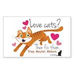 Love Cats? Sticker