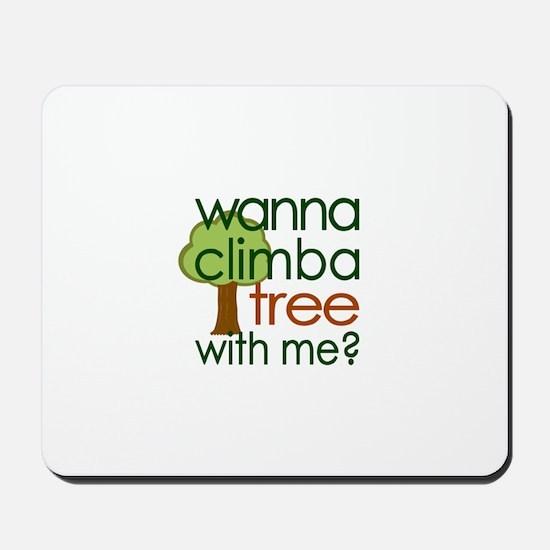 Climba Tree Mousepad