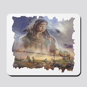 White Buffalo Gift Mousepad