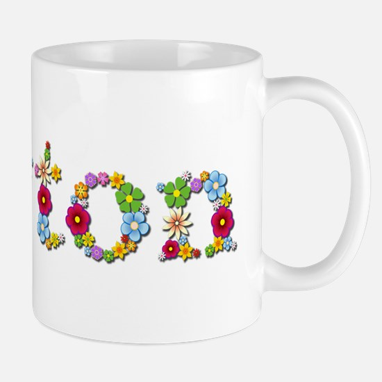 Payton Bright Flowers Mugs