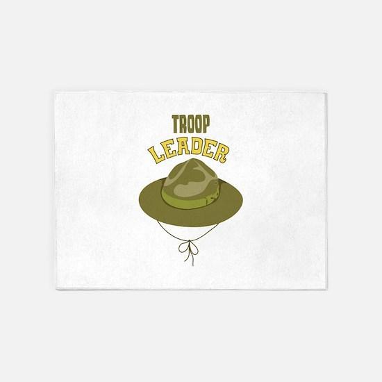 Troop Leader 5'x7'Area Rug