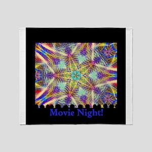 Movie Night! Throw Blanket