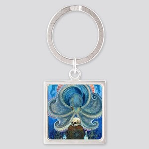 Sea Witch Square Keychain