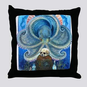 Sea Witch Throw Pillow