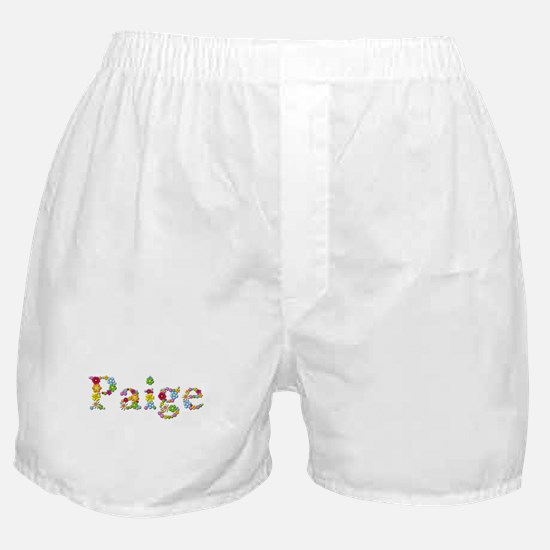 Paige Bright Flowers Boxer Shorts