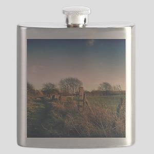 Rural Walk Home Flask