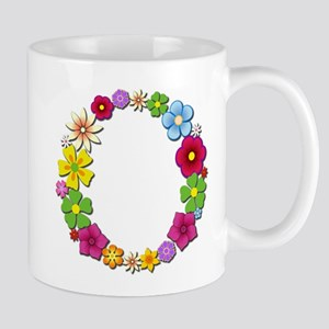 O Bright Flowers Mugs