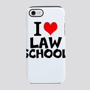I Love Law School iPhone 7 Tough Case