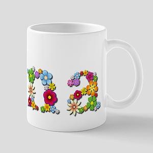 Nina Bright Flowers Mugs