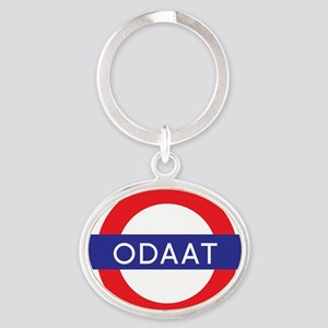 ODAAT - One Day at a Time Oval Keychain