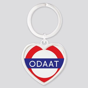 ODAAT - One Day at a Time Heart Keychain