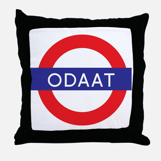 ODAAT - One Day at a Time Throw Pillow