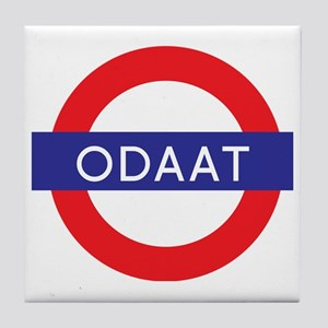 ODAAT - One Day at a Time Tile Coaster