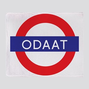 ODAAT - One Day at a Time Throw Blanket