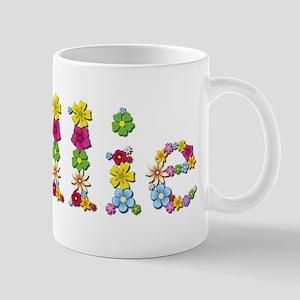 Nellie Bright Flowers Mugs