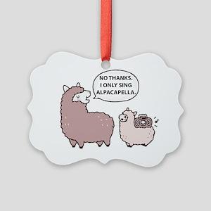 Acapella Humor Picture Ornament