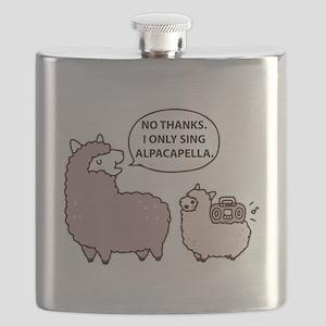 Acapella Humor Flask