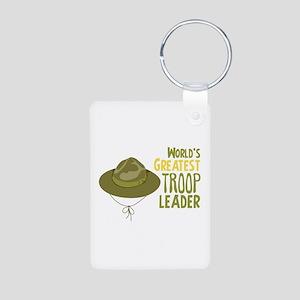 Greatest Troop Leader Keychains