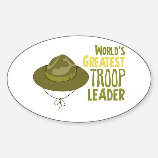 Greatest Troop Leader Decal