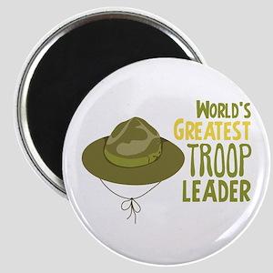 Greatest Troop Leader Magnets