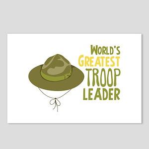 Greatest Troop Leader Postcards (Package of 8)