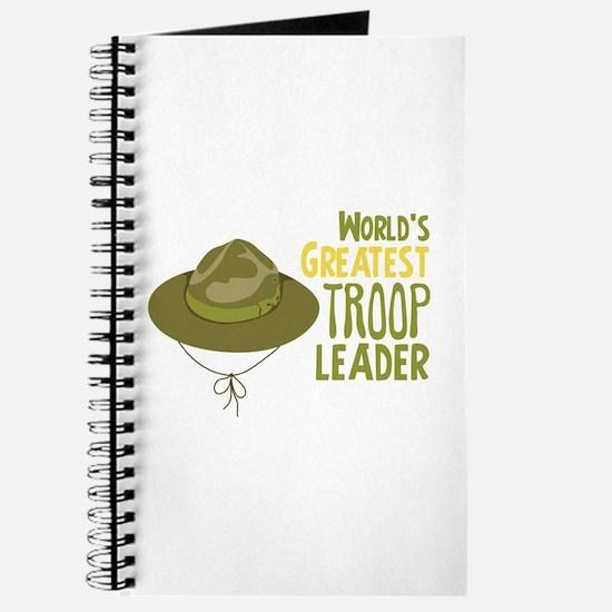 Greatest Troop Leader Journal