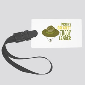 Greatest Troop Leader Luggage Tag