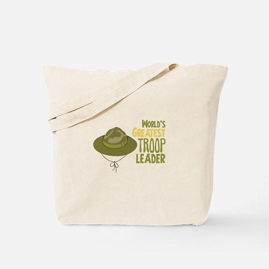 Greatest Troop Leader Tote Bag