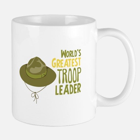 Greatest Troop Leader Mugs