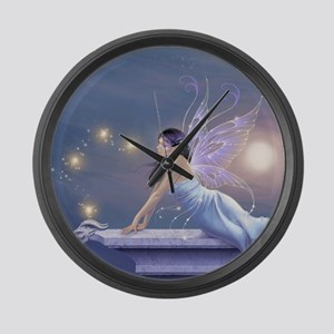 Twilight Shimmer Fairy Large Wall Clock