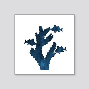 Coral and fish Sticker