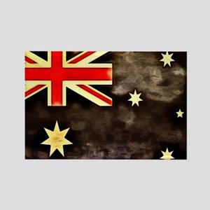 Charcoal Australia Flag Rectangle Magnet