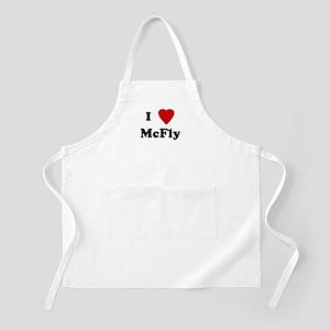 I Love McFly BBQ Apron
