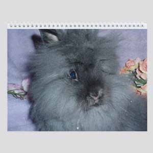 Lionhead Rabbit Wall Calendar