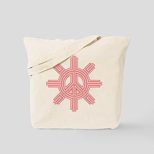 Peace Sun 07 Tote Bag
