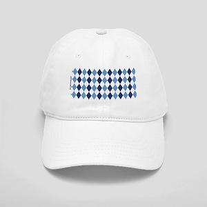 UNC Argyle Carolina Blue Tarheel Cap