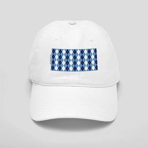 UNC Basketball Argyle Carolina Blue Cap