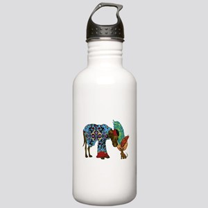 Top Hat and Tails Water Bottle
