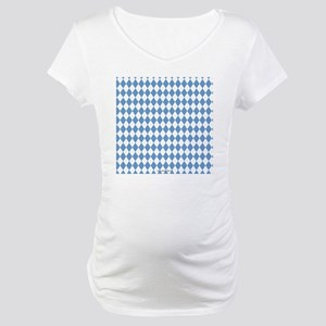 UNC Carolina Blue Argle Basketba Maternity T-Shirt