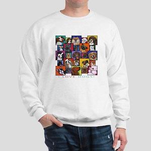 I Love Dogs! Sweatshirt