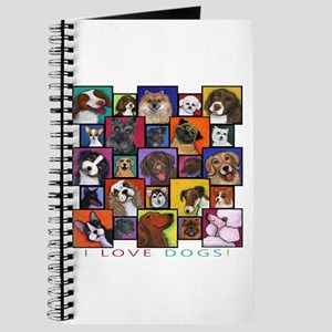I Love Dogs! Journal
