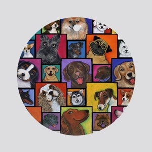 I Love Dogs! Ornament (Round)