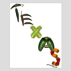 Texas Chilis Small Poster