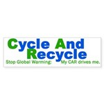 Cycle, Recycle. Do Your Part