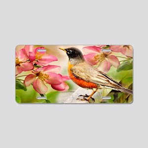 Spring song Aluminum License Plate