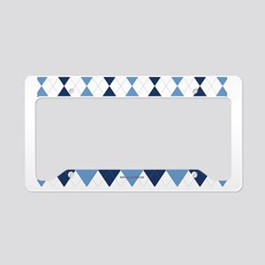 UNC Argyle Carolina Blue Tarh License Plate Holder