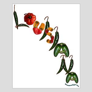 Louisiana Chilis Small Poster