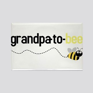 grandpa to bee Rectangle Magnet