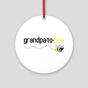 grandpa to bee Ornament (Round)